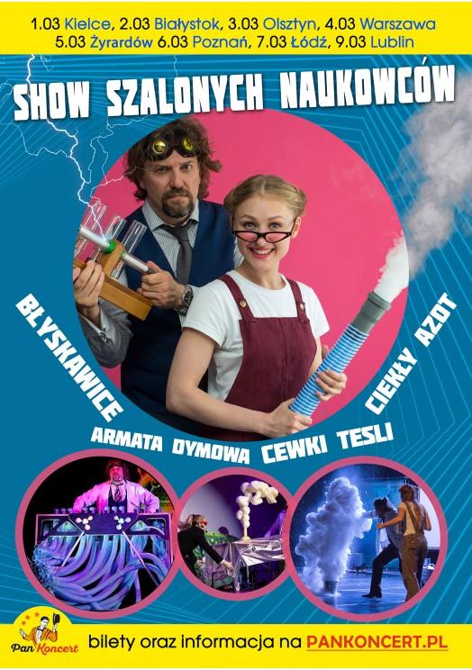 Show Szalonych Naukowców (Kielce)