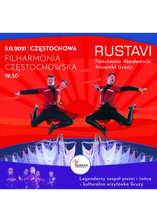 RUSTAVI - Państwowy Akademicki Ansambl Pieśni i Tańca Gruzji