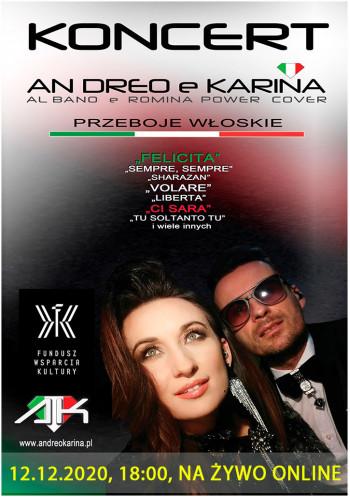 Al Bano e Romina Power cover. An Dreo e Karina. ONLINE